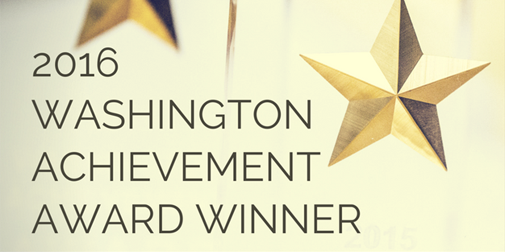 2016 Washington Achievement Award Winner